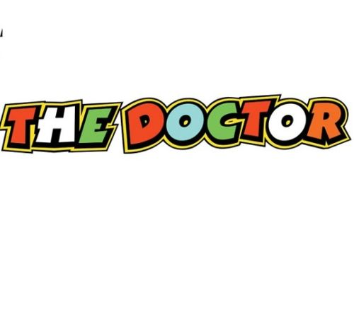 "Valentino Rossi ""The Doctor"" Sticker"